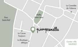 Carte Valence centre-ville